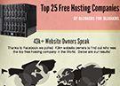 Top 25 Free Hosting Companies