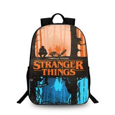 ed7f8ab366ea Stranger Things Backpack Schoolbag Kids Back to School Bags Shoulder Daypack  14