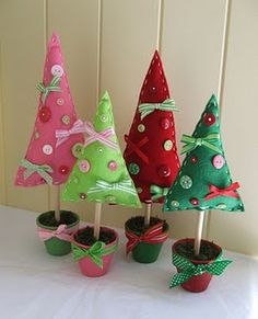 Chelley Bean Designs: BiMC Market this weekend! Fabric Christmas Trees, Hanging Christmas Tree, Felt Christmas Ornaments, Xmas Tree, Christmas Holidays, Christmas Decorations, Christmas Stockings, Theme Noel, Christmas Sewing