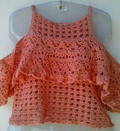 Crochet Coat, Crochet Tunic, Crochet Clothes, Crochet Baby, Crochet Bikini, Crop Top With Jeans, Crochet Fashion, Pulls, Crochet Patterns
