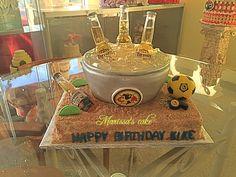 Club America birthday cake. Visit us Facebook.com/marissa'scake or www.marissascake.com