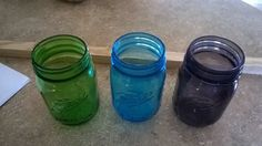 My husband found some clearance rack Mason jars ( they were misprints) so I was inspired to make some sort of holder for them . My husband scored a great value!…