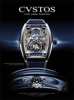 CVSTOS Challenge Tourbillon Yachting Club Limited Edition