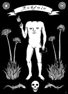 Acéfalo  Ilustración realizada para Colectivo Acéfalo https://www.facebook.com/colectivoacefalo