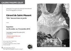 Exposition Gérard de Saint-Maxent
