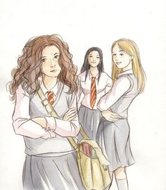 Looking past the fact Cho Chang is a Ravenclaw, this pretty cool. The woman of Harry Potter