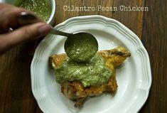 Cilantro Pecan Chicken - Holistic Kid