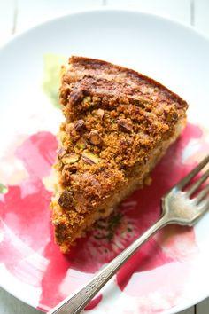 movita beaucoup   cardamom rhubarb snacking cake   http ...