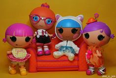 Littles Lalaloopsy With Couch