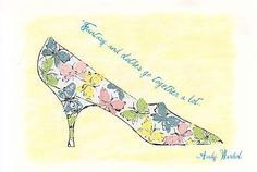 Andy Warhol- Stamped Shoe with Butterflies 1961 by canno1979, via Flickr