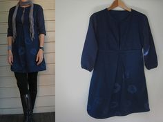 to try. school house tunic with centre front pleat ( instead of the 2 pleats at front) & elastic on cuffs.