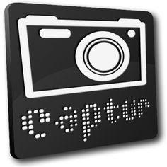 このボード最初にアップしたデスクトップをスクリーンキャプチャした画像はこのCapturというキャプチャアプリで撮りました。このCapturはOS X標準搭載のキャプチャアプリではキャプチャされないマウスポインタを含んだキャプチャが可能で、画像ファイルフォーマット、保存場所、ファイル名に時刻の追加、等のオプション機能を持っています。Ver2.3は64bitネイティブで非常に軽いアプリです。Skitchならもっと高機能ですが手軽さでCapturをメインに使ってます。
