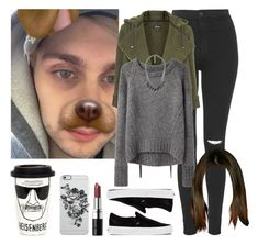 """""""Cold day with Michael. -----> *Cynthia."""" by imaginegirlsdsos ❤ liked on Polyvore featuring Topshop, T By Alexander Wang, VPL, SELECTED, Vans, Bobbi Brown Cosmetics, Uncommon and River Island"""