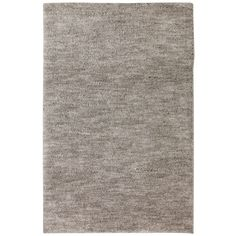 Shop Mohawk Home Rectangular Gray Solid Tufted Area Rug (Common: 8-ft x 10-ft; Actual: 96-in x 120-in) at Lowes.com