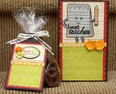 Best Teacher Gift Set - Scrapbook.com