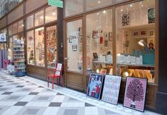 L'illustre boutique, papershop | 1, Passage du Grand Cerf | Métro: Etienne Marcel | Paris