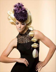 Avant Garde Hair. Asta Luster the winner of Eufora Stylist of the Year 2013 #avantgarde #avantgardehair#lusterhairlounge #avantgardehairhats
