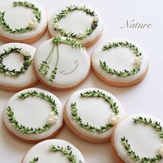 ✨Thank you very much in 2016! I wish for everyone's happiness✨I love icing cookies✨☺️ #wreathe #リース #ナチュラル #naturalstyles #おうちカフェ #スイーツ #sweets #customcookies #おうち時間 #暮らし