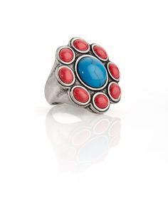 Dahlia Blossom Ring - JewelMint