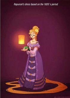 Historical Accurate Disney Princess Fashion: Rapunzel