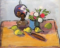 Post Impressionism, Impressionist, Frasier Crane, Bucharest, Abstract Flowers, Still Life, Paintings, Matisse, Detail