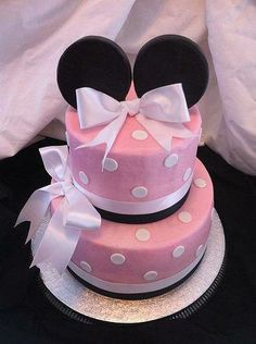 minnie mouse party ideas for birthday Cake Teen Birthday and Event Cake Ideas Birthday Cake Girls Teenager, Birthday Cakes For Teens, Cool Birthday Cakes, Teen Birthday, Special Birthday, Birthday Ideas, 13th Birthday, Bolo Minnie, Minnie Mouse Cake