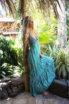 Queen of the Nile Maxi Dress - like style, but wouldn't wear it unless it covered a bit more skin! :)-