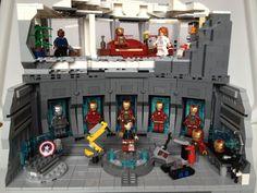 LEGO Iron Man Armoury / Malibu Mansion