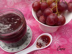 Mermelada de uva Canning Recipes, Egg Recipes, Kitchen Recipes, Pesto, Minis, Canning Food Preservation, Salsa Dulce, Jam And Jelly, Ice Cream Desserts