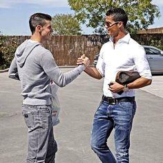Gareth Bale & Christiano Ronaldo #HalaMadrid