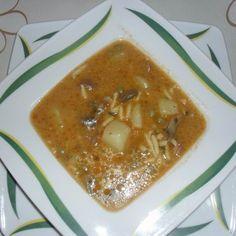 Bakonyi vaddisznóleves zöldségekkel Recept képpel - Mindmegette.hu - Receptek Pancakes, Pudding, Breakfast, Desserts, Food, Morning Coffee, Tailgate Desserts, Deserts, Custard Pudding