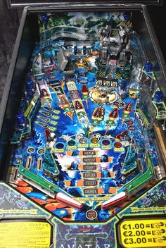 Playfield of the Avatar pinball machine by Stern, available now at Elite Home Gamerooms - Fort Myers, Florida Arcade Game Room, Arcade Games, Pinball Games, Flipper Pinball, Stern Pinball, Addams Family Pinball, Demolition Man, Pinball Wizard, Fish Tales