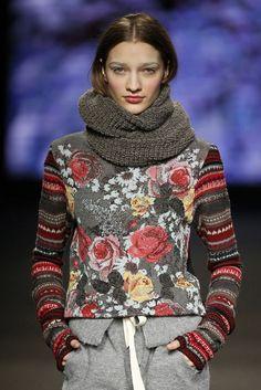 Dziana Moda: Cudowna żakardowa bluzka
