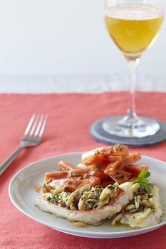 Filets de Rouget gratiné au cidre, façon provençale : la recette facile