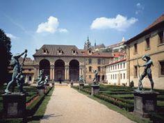 Garden at Wallenstein Palace, Prague