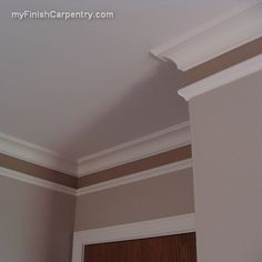 molding (possible idea for my bedroom)