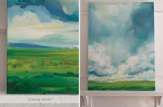 Oil Landscape Painting by Emily Jeffords