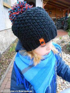 Milé maminky,vkládám návod na jednoduchý kulíšek.Pokud již tady někde bude návod,tak se omlouvám,ale... Crochet Baby Hats, Knitted Hats, Knit Crochet, Winter Hats, Headbands, Couture, Stitch, Knitting, Pretty