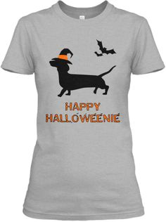 Happy Halloweenie! Dachshund T-shirt