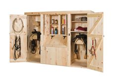 Amish Pine Furniture | Cabinets, Tack Boxes, Feed Bins