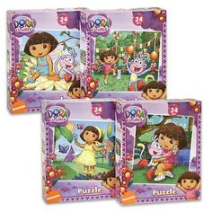 Dora The Explorer Jigsaw Puzzles
