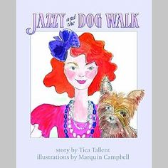 Jazzy and the Dog Walk | Marquin Designs - its #NationalLiteracyMonth - Jazzy & the Dog Walk is Half off on www.marquindesigns.com