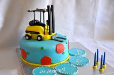 Celebrate your event with Forklift Cake