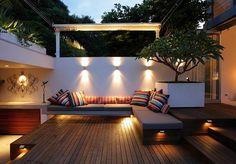 Iluminación de exterior para el jardín