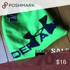 🎉HUGE SALE🎉 NWT UnderArmour warm winter hat 🎉 HUGE SALE! 🎉 WHOLE STORE! 🎉  BUY IT BEFORE ITS GONE! ...sale ends Monday.  ----- ☠️ NEON LIME FLUORESCENT GREEN UNDERARMOUR WINTER HAT  • bright neon green • brand new, WITH TAGS, NEVER WORN! • extremely warm  ------ // sold as is // bundle to save // accepting all reasonable offers // if you like it, BUY IT! prices will never be this low again //  #underarmour #winter #hat #warm #snow #cold #neon #green #lime #fluorescent #bright #brandnew…