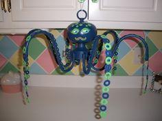 Metal Creations :: Octopus Chandelier by excessfroufrou image by sangaree_KS - Photobucket