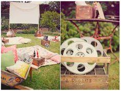 Beautiful Outdoor Cinema PartyIdeas