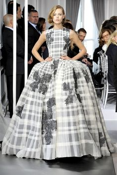 Christian Dior Spring 2012 Couture Fashion Show - Frida Gustavsson (IMG)