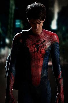 Spider-Man    Andrew Garfield starred in The Amazing Spider-Man in 2012.