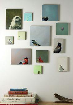 Gallery wall #art